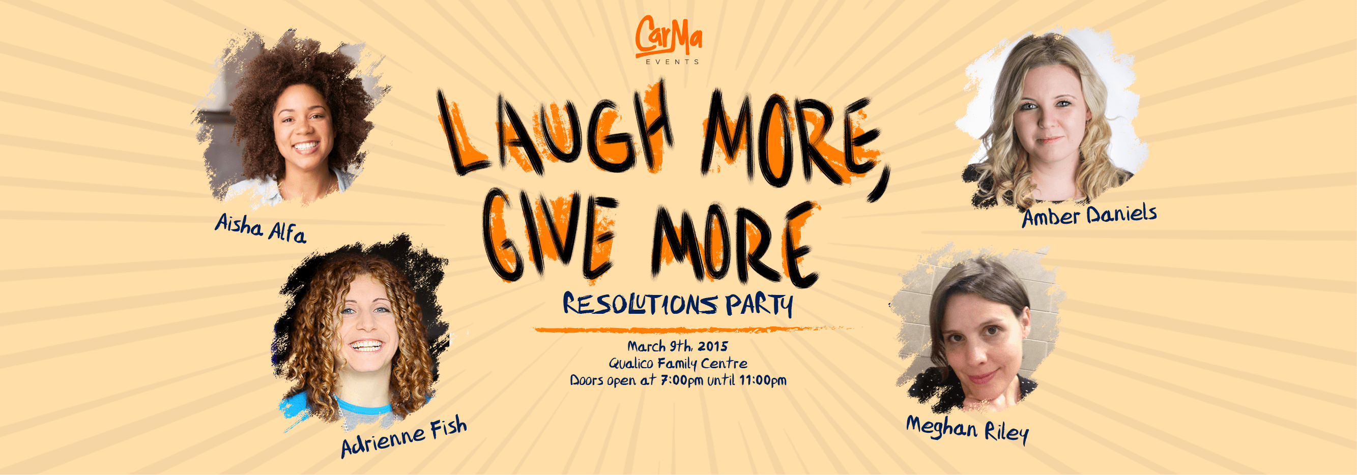 Laugh More, Give More