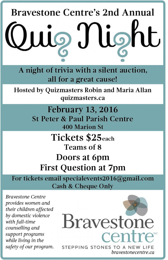 2016 Quiz Night