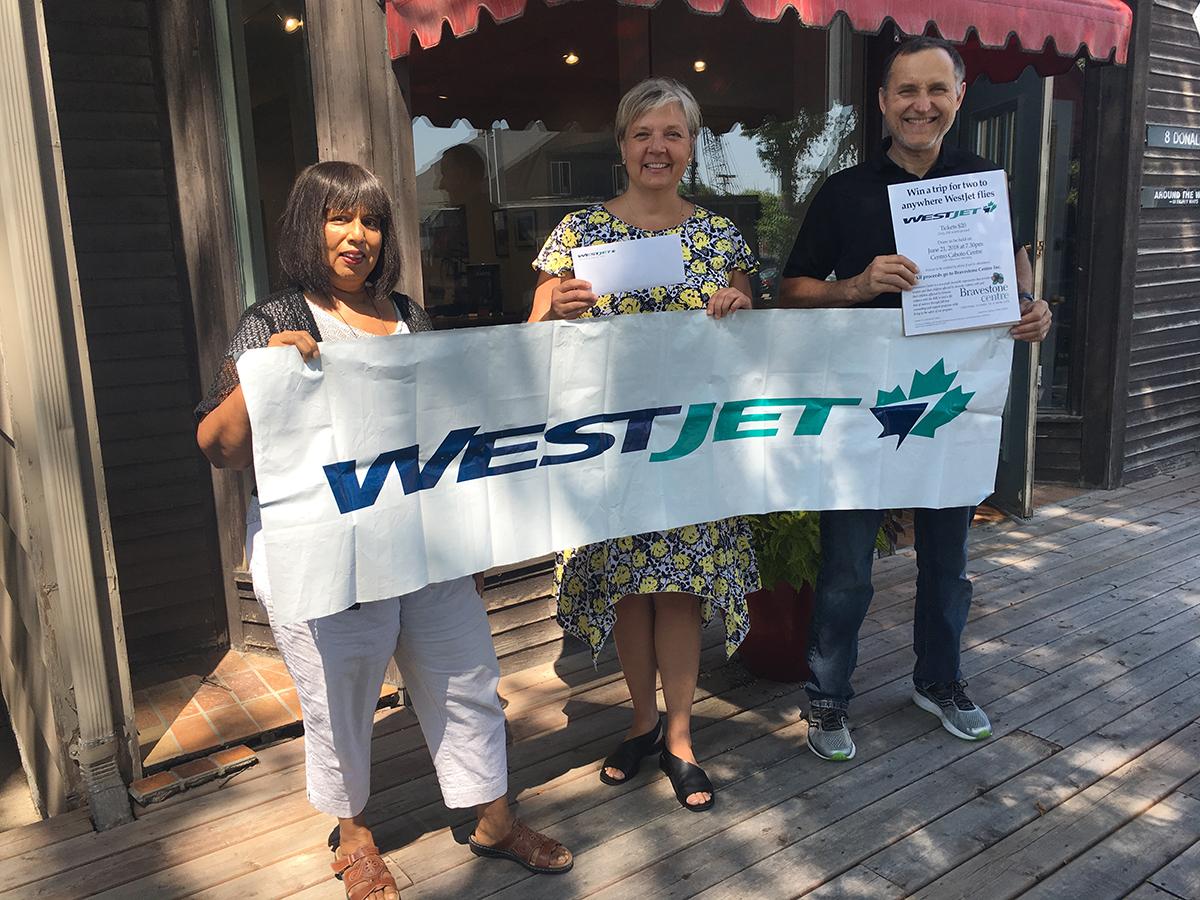 2018 WestJet Raffle Winner